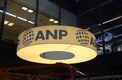 Grote lampenkap ANP