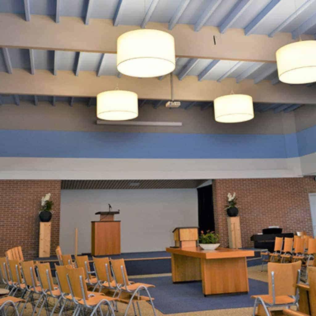 Lampenkappen kerk 1