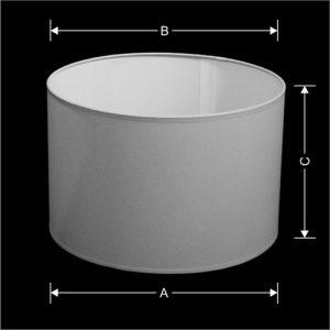 Lampenkap Model Cilinder