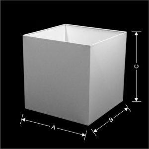Lampenkap Model Kubus