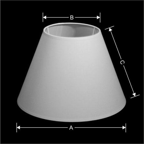 p 18142 lampenkap  rondo