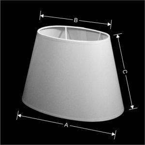 Lampenkap Model Ovaal Schuin