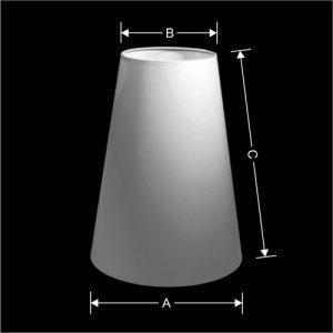 Lampenkap Model Toeter