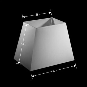 Lampenkap Model Rechthoek